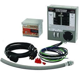 Generac 6408 30-Amp 6-10-Circuit Indoor Manual Transfer Swit