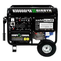 DuroMax 10000 Watt Hybrid Dual Fuel Portable Gas Propane Gen