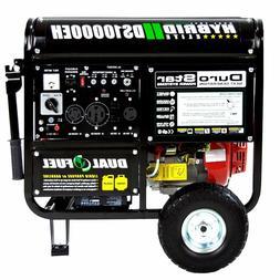 DuroStar 10000 Watt Hybrid Dual Fuel Portable Gas Propane Ge
