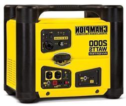 Champion 100148 2000-Watt Stackable Portable Inverter Genera