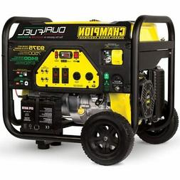 Champion 7500-Watt Dual Fuel Portable Generator with Electri