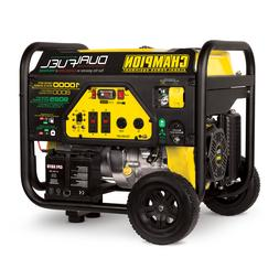 100297 - 8000/10,000w Champion Dual Fuel Portable Generator