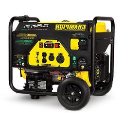 100397 - 3500/4000w Champion Dual Fuel Generator, electric s