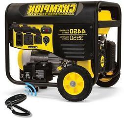 100433 CHAMPION POWER EQUIPMENT Portable Generator Gas Power