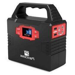 100W Portable Generator Solar Powered Battery Back-up AC Ada