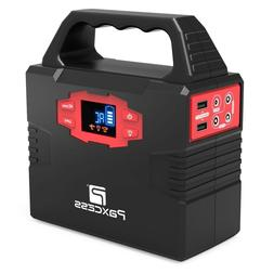 100W Portable Generator Solar Powered Battery Back-up AC Ada