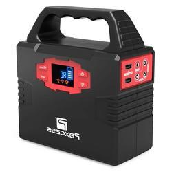 150W Portable Generator Solar Powered Battery Back-up AC Ada