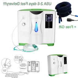 110V 2-9L Oxygen Generator Air Purifier O2 Concentrator Mach