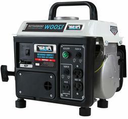 1200-Watt Quiet Portable Gas Powered Generator Home RV Campi