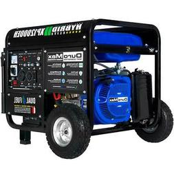 DuroMax XP12000EH 12,000-Watt 18 HP Portable Hybrid Gas Prop