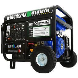 DuroMax 12000 Watt 18hp Portable Hybrid  Gas Propane Generat