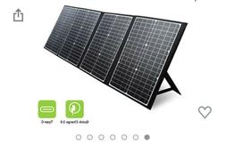 PAXCESS 120W Portable Solar Panel For Generator/Rockpals Pow