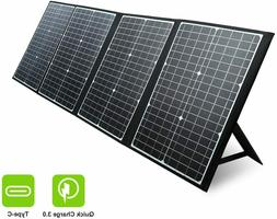 120w portable solar panel for jackery solar