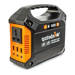 Webetop 155Wh 100W 42000 mAh Lithium Battery Portable Power