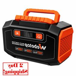 Webetop 167Wh 45000mAh Portable Power Generator Inverter Bat