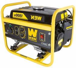 Wen 1800 Watt Generator Portable Gasoline CARB Compliant Pow