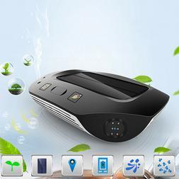 1PC Mini Solar Portable Air Cleaner Air Purifier Negative Io