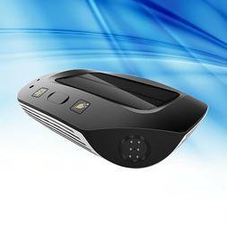 1PC Portable Mini Solar Air Purifier Air Cleaner Negative Io