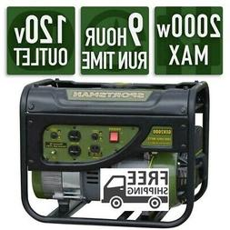 Sportsman 2,000/1,400-Watt Gasoline Powered Portable Generat