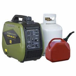 2200 Watt Dual Fuel Inverter Generator for Sensitive Electro