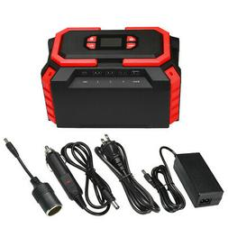 Portable Power Station 222Wh Battery Solar Generator with AC