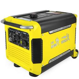 3000 Watt Portable Digital Inverter Quiet Generator Electric