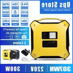 300W 220V <font><b>Portable</b></font> Energy Storage System