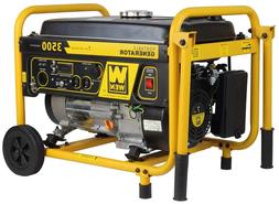 WEN 3500-Watt 7-HP Portable Gas Powered Generator with Wheel