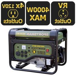 4000 3500 watt gasoline powered portable generator