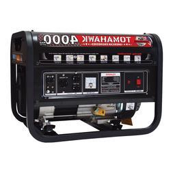 4000 Watt Generator Gas Power Portable Home Use Residential