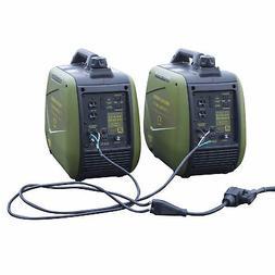 4400 Watt Gasoline Portable Inverter Generator Kit with 30 A