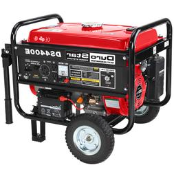 DuroStar 4400 Watt Quiet Portable Electric Start RV Gas Powe