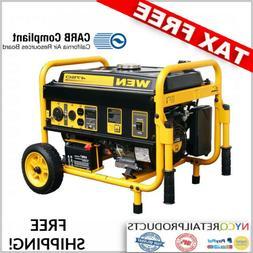 WEN 4500 Watt Portable Fuel Gas Propane Generator - Camping