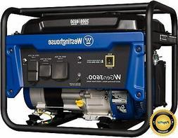 4650w quiet portable gas powered rv ready