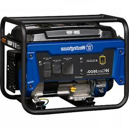 Westinghouse 4650W Quiet Portable Gas Powered RV Ready Gener