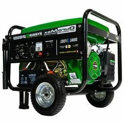 DuroMax 4850 watt Dual Fuel Hybrid Gas/Propane Generator wit