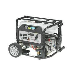 Quip-All 5,250 Watt Dual Fuel Gas Portable Generator w/ Elec