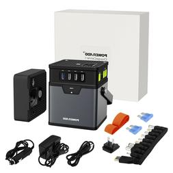50000mAh AC & DC Portable Generator Power Inverter Power Ban