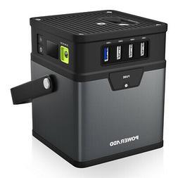 50000mAh Portable Generator W/ Power Inverter 12V-115V USB A