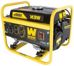 WEN 56180, 1500/1800 Watts, Gas Portable Generator, BRAND NE