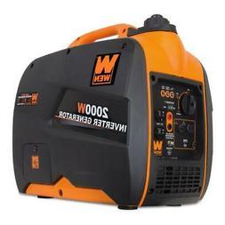 Wen 56200i 2000 Watt Super Quiet Inverter Generator with CAR