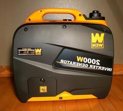 NEW WEN 56200i Super Quiet 2000-Watt Portable Inverter Gener