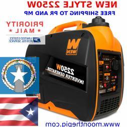 WEN 56225i 22250W Gas Powered Portable Inverter Generator SH
