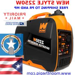 WEN 56225i 22250W Gas Powered Portable Inverter Generator SH