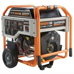 Generac 5802 XG10000E 10,000 Watt Electric Start Portable Ga