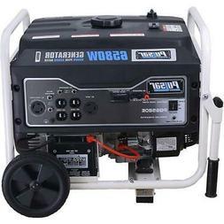 Pulsar 6,580 Watts Gas-Powered Portable Generator Electric S