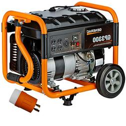 Generac 6431R GP Series 3,300 Watt Portable Generator