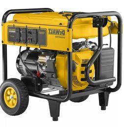 DeWALT 7000 Watt Portable Generator   Electric Start   DXGNR