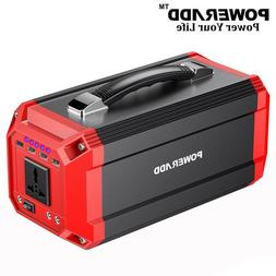 Poweradd 73000mAh Portable Generator Power Inverter Power Ba