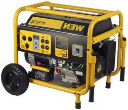 9,000 Watt Gasoline Generator with Wheel Kit and Electric St